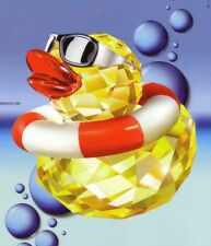 SWAROVSKI SILVER CRYSTAL DUCK-SUNNY SAM 1041295 1 PROD. MINT IN BOX