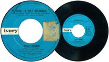 Philippines LOKAL BROWN This Is Not America OPM 45 rpm Record