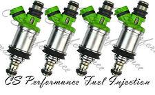 OEM Denso Fuel Injectors Set (4) 23250-74140 CA Emission Flow Matched in the USA