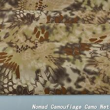 """2-Yards Highlander Camo Camouflage Cotton Blend Army Military 60""""W Fabric Cloth"""