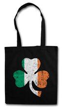 Irish Shamrock Hipster BAG-BORSA TESSUTO STOFFA sacchetto sacchetto Iuta-Ireland Irlanda