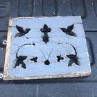 Victorian gingerbread spandrel panel element cut out detail 10 75 9  c1880