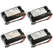 4 NEW Cordless Home Phone Rechargeable Battery for Panasonic HHR-P506 HHR-P506A