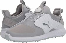 PUMA Men's Ignite Pwradapt Caged Disc Golf Shoe, Silver, Size 9.0 AYdH