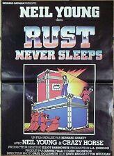 Affiche RUST NEVER SLEEPS (Neil Young) 59x42 cm*