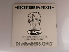 "December 84 mixes, DMC 23/2, 12"" vinyl, Disco Mix Club, BPI MCPS Limited"