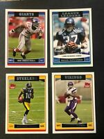 2006 TOPPS FOOTBALL CARDS YOU CHOOSE PICK RC'S COMPLETE YOUR SET NFL CARD FS