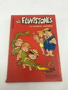 THE FLINTSTONES #12 Dutch Comic Book 1960s ULTRA RARE Netherlands WILMA FRED
