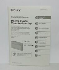 Sony Operation Instructions for Cyber-Shot DSC-T5 (2-635-482-11)