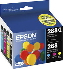 Epson 288XL Black & 288 Color ink, XP-330, XP-430, XP-434 New in Retail Box !!!