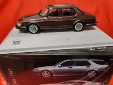 Saab 900 Sedan 1987 + Atlas Car Museum Collection 1:43 +