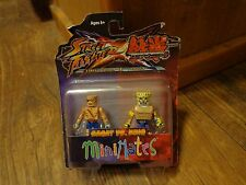2012 DIAMOND SELECT MINIMATES--STREET FIGHTER x TEKKEN--SAGAT vs KING FIGURES