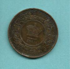 CANADA NOVA SCOTIA ONE CENT 1861