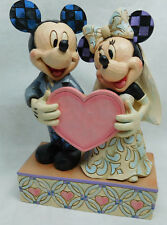 Disney Traditions Enesco Jim Shore 4059748 Mickey & Minnie Mouse Hochzeitspaar