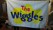 WIGGLES 4' X 6' APPLIQUED BANNER
