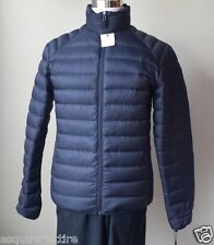 Calvin Klein Men size S navy blue packable down puffer coat jacket NWT