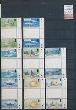 XC58190 British Indian Ocean 2005 fish sealife gutter pairs MNH cv 56 EUR