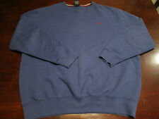 Daniel Cremieux Mens Blue Sweater Shirt Sz XL Crewneck Soft Logo Pullover