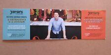 JAMIE OLIVER JAMIE'S ITALIAN RESTAURANT ADVERTISING CARD RUSSIA MOSCO ST. PETE