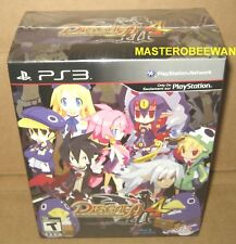 Disgaea 4: A Promise Unforgotten Premium Limited Edition (PS3, 2011) New Sealed