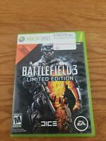 Xbox 360,  Battlefield 3, 2 disk Limited Edition, Video Games, no manual, tested