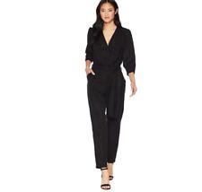 Young Fabulous & Broke Bellows Jumpsuit Black XS