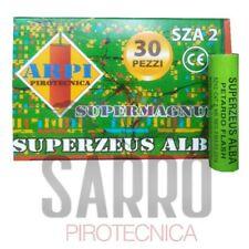 BOTTI PETARDI CAPODANNO RAUDI RAUDO magnum flash super ZEUS 30 PEZZI