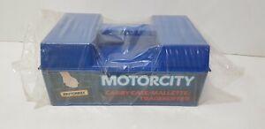 Vintage MATCHBOX Motorcity Carry Case Tragekoffer Mallette Hong Kong (NO CARS)