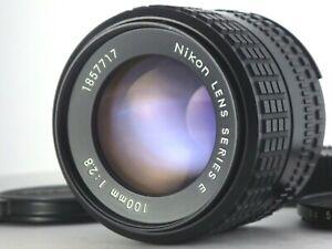 [Near MINT!] Nikon Series E Ai-S 100mm F2.8 AIS MF Lens from JAPAN JP SLR Manual