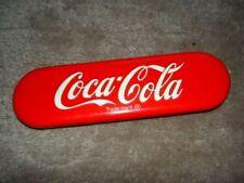 Coca Cola Blechetui für Bleistifte oder Kugelschreiber ca 17cm lang