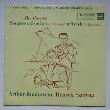 BEETHOVEN Sonates 5 Le printemps 9 A Kreutzer RUBINSTEIN HENRYK SZERYNG  630539