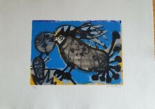Guillaume Corneille Limited Edition hand signed lithograph