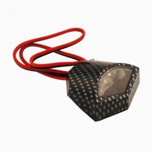 -beleuchtung Kennzeichen 3 LED 12V Kohlenstoff Anerkannt One Rollermotorrad Quad