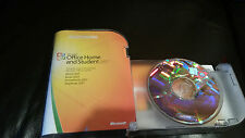 Gebrauchte Microsoft MS Office 2007 Home and Student Voll Retail Box
