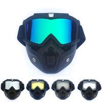 Winter Snow Sports Face Mask Shield Ski Snowboard Snowmobile MTB Goggles Glasses