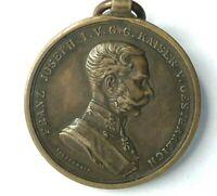 WW1 Austria Hungary Bravery Medal 4th Class Bronze Original 1914-17