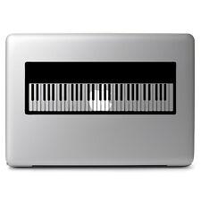 "Digital Piano Keyboard f Macbook Air Pro 11 13 15 17"" Laptop Vinyl Decal Sticker"