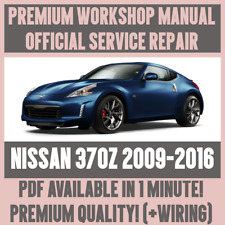 *WORKSHOP MANUAL SERVICE & REPAIR GUIDE for NISSAN 370Z 2009-2016 +WIRING