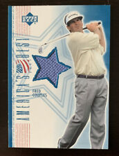 2002 Fred Couples Americas Best Rookie Shirt Swatch Short Print UD BOOM BOOM