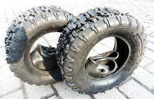 2x 13x5.00-6 Reifen mit Schlauch 13x5-6 für Kinderquad Schneeräumer Aufsitzmäher