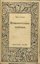Romanticismo italiano: saggi di storia della critica e della letteratura. Biblio
