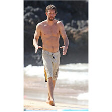 Paul Walker Shirtless Walking on The Beach with Arms Out 8 x 10 Inch Photo