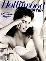 Elizabeth Taylor Magazine Hollywood Reporter Tribute 2011 MT Liz Cleopatra Photo