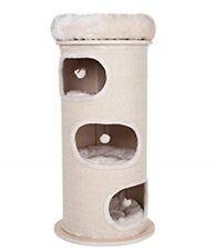 Premium Sturdy Cat Scratching Barrel Three Dens - 113cm x 55cm