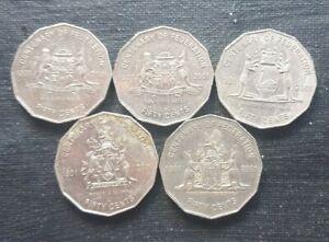2001 Australian States 50 cent coin