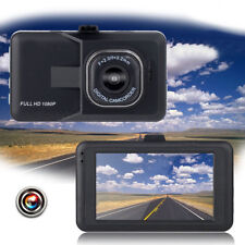 "1080P 3.0"" Vehicle Car Dashboard DVR GPS Camera Video Recorder Dash Cam G-Sensor"
