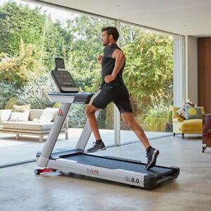 REEBOK SL8 Auto-Stop Treadmill With Media Hub And Adjustable Fan