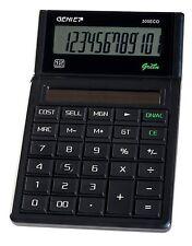 GENIE 305ECO à 12 Chiffres Bureau Business Calculatrice 100% à énergie solaire. 11763
