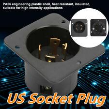 4 Hole 30a 125v 250v 5kw Us Ul Listed Industrial Generator Us Socket Plug