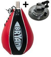 BRYAN Boxbirne + Swivel Halterung Boxset Speedball Schlagbirne Punchingball